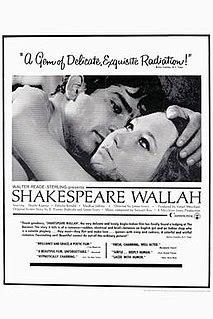 <i>Shakespeare Wallah</i> 1965 film by James Ivory
