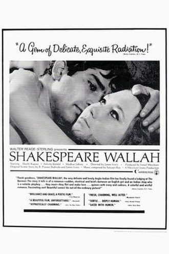 Shakespeare Wallah - Theatrical release poster