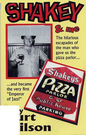 """Sherwood Johnson - Sherwood """"Shakey"""" Johnson pictured on the cover of Shakey and Me"""