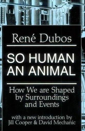 So Human an Animal - Image: So Human An Animal cover
