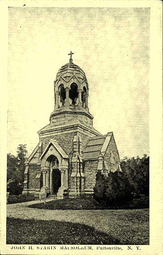 John H. Starin - Starin Mausoleum in Fultonville Cemetery