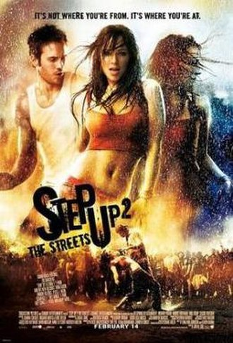 Step Up 2: The Streets - Theatrical release poster