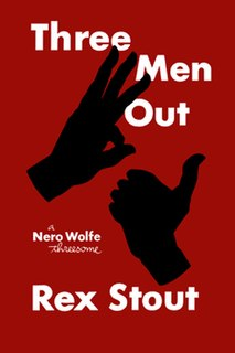 <i>Three Men Out</i> book by Rex Stout