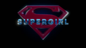 Supergirl (TV series) - Title card for the second season