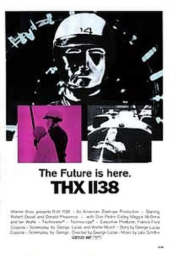 THX 1138 - Theatrical release poster