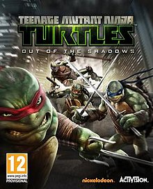 Teenage Mutant Ninja Turtles Out Of The Shadows Video Game
