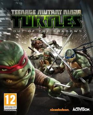 Teenage Mutant Ninja Turtles: Out of the Shadows (video game) - Image: TMNT Outof