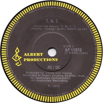 T.N.T. (song) - Image: TNT single ACDC