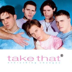 Everything Changes (Take That song) - Image: Take that everything changes UK CD1