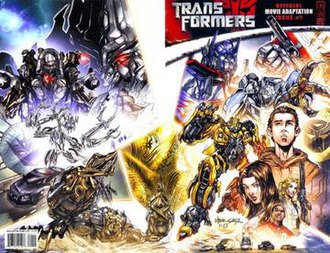 Transformers: Movie Adaptation - Image: Tfmovieadaption