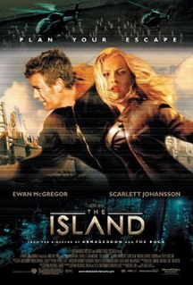<i>The Island</i> (2005 film) 2005 American science fiction action thriller film directed by Michael Bay