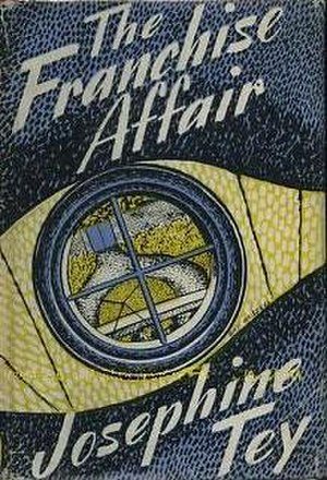 The Franchise Affair - 1948 first edition cover