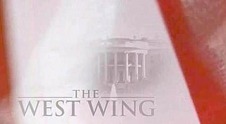 <i>The West Wing</i> American political drama series created by Aaron Sorkin for NBC (1999-2006)