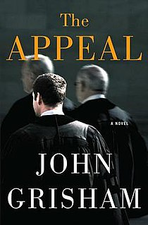 <i>The Appeal</i> novel by John Grisham