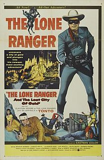<i>The Lone Ranger and the Lost City of Gold</i> 1958 film by Lesley Selander