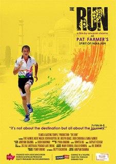 <i>The Run</i> (film) 2017 documentary film directed by Anupam Sharma