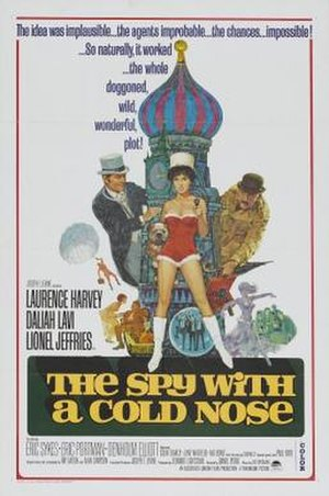 The Spy with a Cold Nose - Image: The Spy with a Cold Nose Film Poster