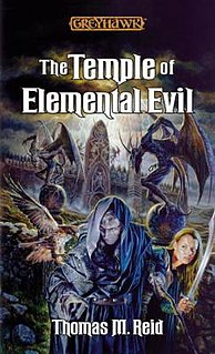 <i>The Temple of Elemental Evil</i> (novel) book by Thomas M. Reid
