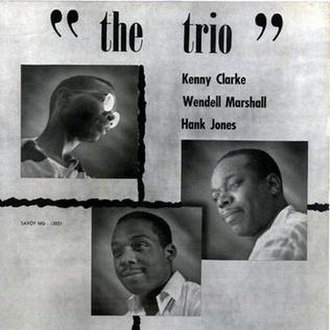 The Trio (Hank Jones album) - Image: The Trio (Hank Jones album)