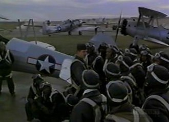 The Tuskegee Airmen - Training base where Maj. Joy (Christopher McDonald) instructs the trainees for the first time.