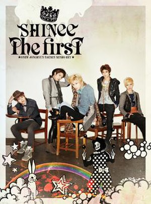 The First (album) - Image: The first shinee album