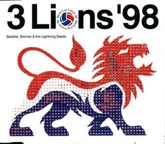Three Lions - Image: Three lions 98
