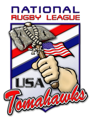 United States national rugby league team - Team badge used until 2010