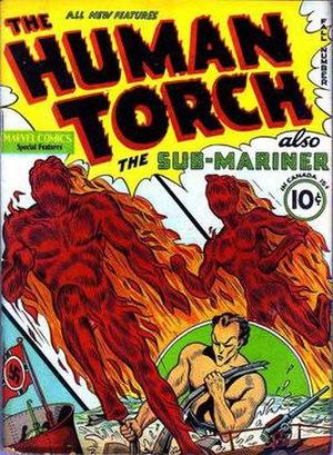 Toro (comics) - Image: Toro comics