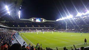 2012–13 NK Maribor season - Tottenham and Maribor at White Hart Lane on 8 November 2012