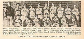 Twin Falls Cowboys - 1939 championship team