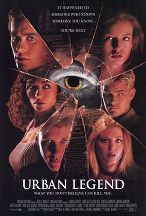 Urban Legend (film) - Theatrical release poster