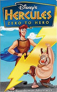 <i>Hercules: Zero to Hero</i> 1998 television film directed by Bob Kline