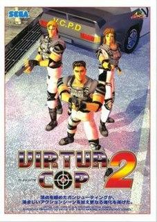 <i>Virtua Cop 2</i> 1995 video game