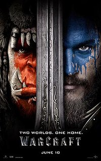 <i>Warcraft</i> (film) 2016 American action fantasy film