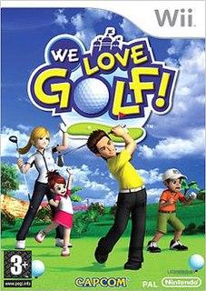 <i>We Love Golf!</i> 2007 video game