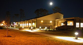 South Georgia State College - SGSC's Wellness Center at night