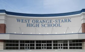 Secondary education in the United States - West Orange-Stark High School, a college preparatory high school in Texas