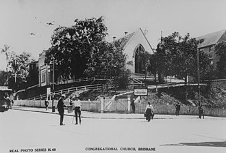 Charles Tiffin - Image: Wharf Street Congregational Church Brisbane