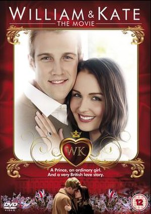 William & Kate: The Movie - DVD Cover (Region 2)