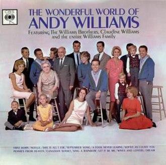 The Wonderful World of Andy Williams - Image: Williams Wonderful