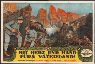 <i>With Heart and Hand for the Fatherland</i> 1915 film by Jacob Fleck