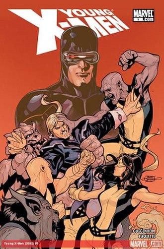 Young X-Men - Image: YXMEN005CVR 400colsolicits