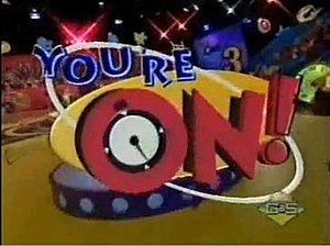 You're On! - Image: You're On Logo Nickelodeon Show