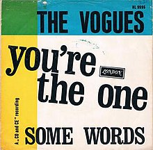 You're the One - The Vogues.jpg