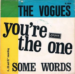 You're the One (Petula Clark song) - Image: You're the One The Vogues