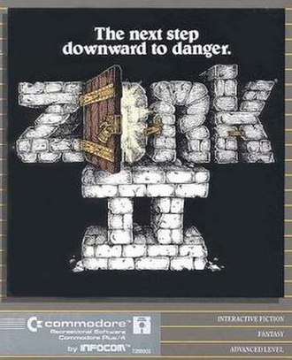 Zork II - Zork II Commodore 64 cover art