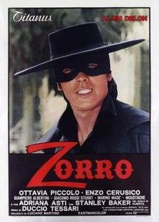 <i>Zorro</i> (1975 Italian film) 1975 film by Duccio Tessari
