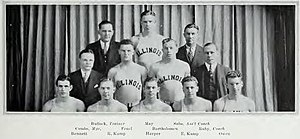 1930–31 Illinois Fighting Illini men's basketball team - Image: 1930–31 Illinois Fighting Illini men's basketball team