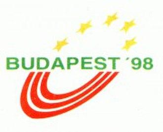 1998 European Athletics Championships - Image: 1998budapest