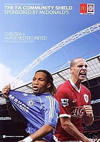 2007 Community Shield programme.jpg
